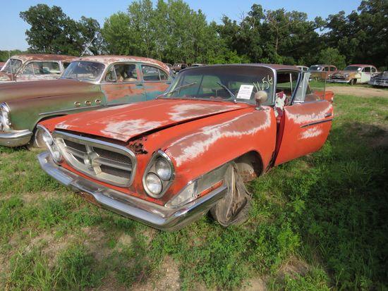 1962 Chrysler 4dr Sedan for Rod or Restore or parts