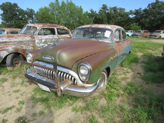Buick 4dr Sedan 1953 for Project or parts