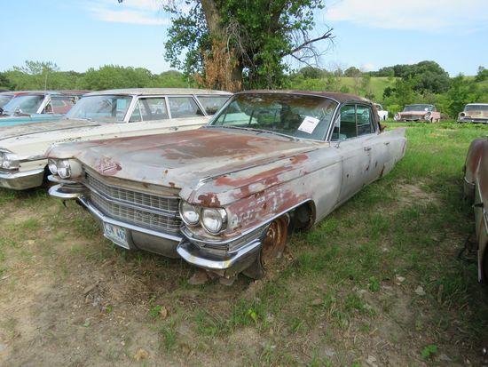 1963 Cadillac 4dr HT