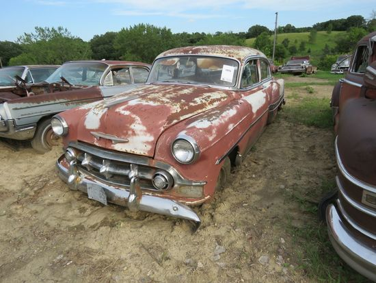 1953 Chevrolet Belair 4dr Sedan for project or parts