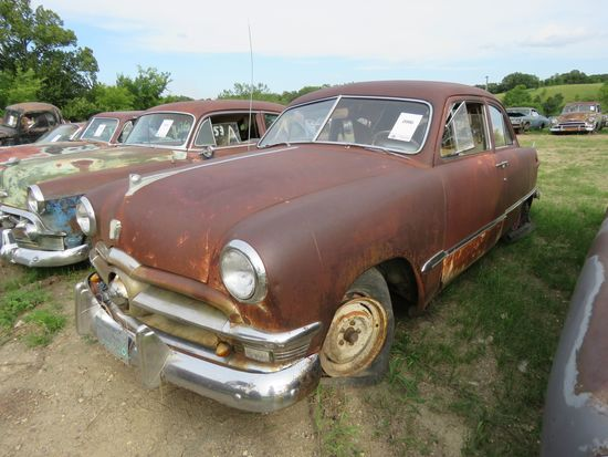 Ford Custom 2dr Sedan for rod or restore or parts
