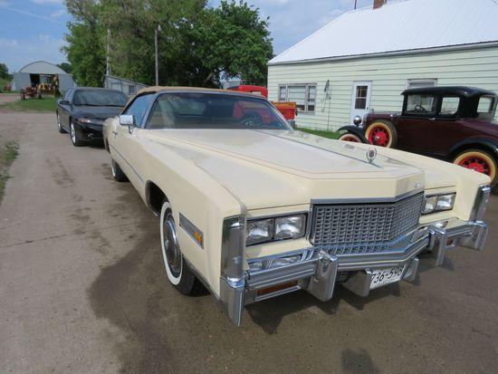 1976 Cadillac Eldorado Convertible 6L67S60237452