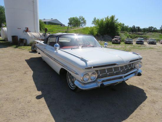 1959 Chevrolet Impala Convertible E59J159100