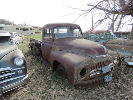 1950's International L-110 Pickup for Rod or Restore