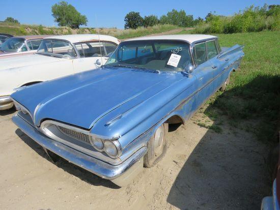 1959 Pontiac Bonneville 4dr HT 859P9105