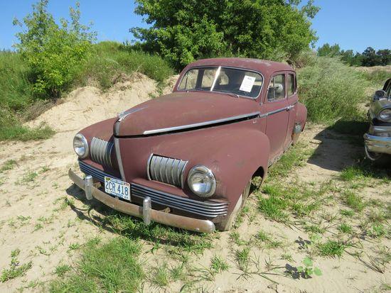 1941 Nash 6 4dr Suicide Sedan for Rod or Restore