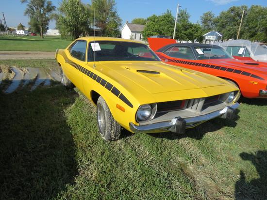 1973 Plymouth Barracuda 2dr HT