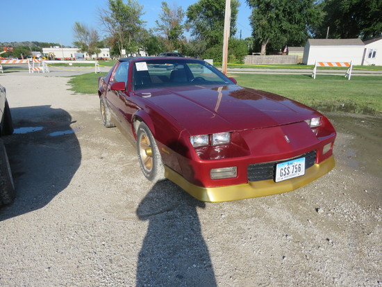 1989 Chevrolet Camaro RS Coupe