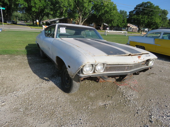 1968 Chevrolet Chevelle 2dr HT Project or Parts