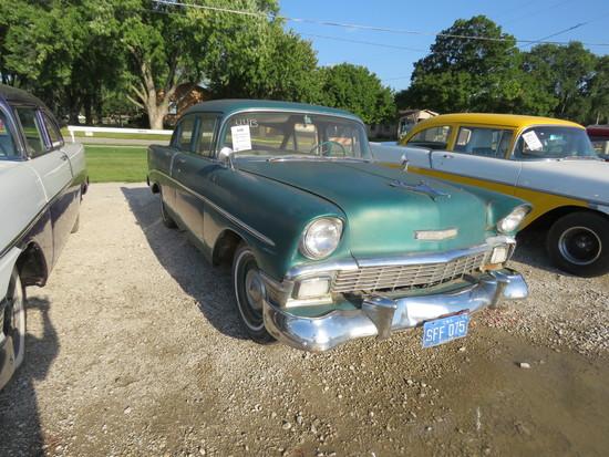 1956 Chevrolet 4dr Sedan