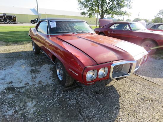 1969 Pontiac Firebird 2dr HT Coupe