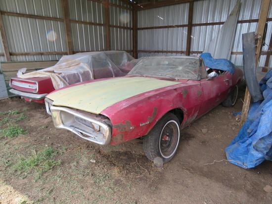 1967 Pontiac Firebird Convertible Project