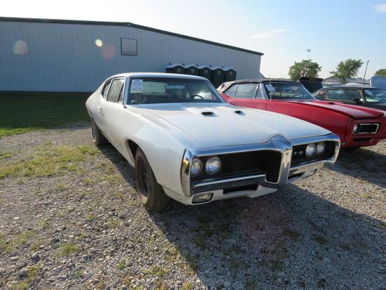 1969 Pontiac Tempest Custom S Sport Coupe