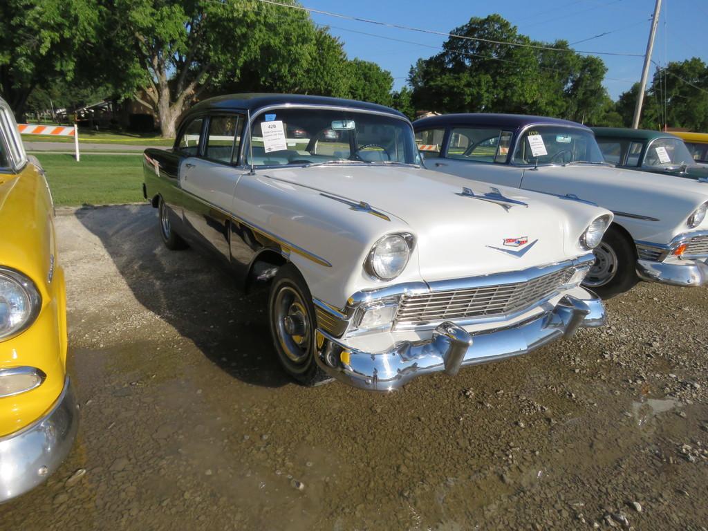 1956 Chevrolet Custom 2dr Post