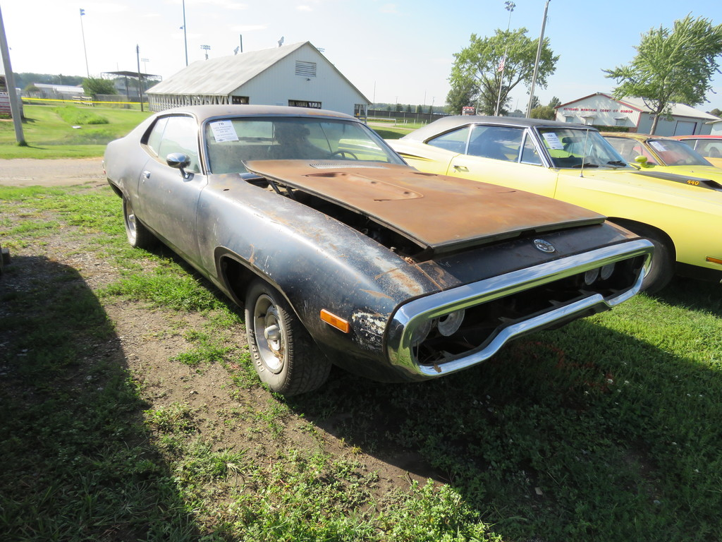 1972 Plymouth Roadrunner 2dr HT