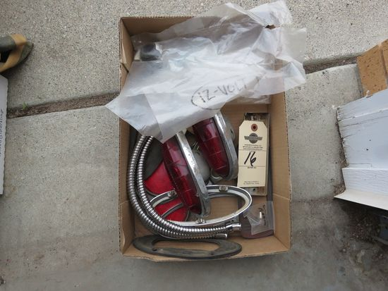 1950 Fod Taillights and other parts
