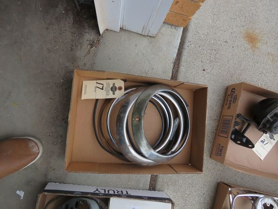 1950 Ford Headlight Rings