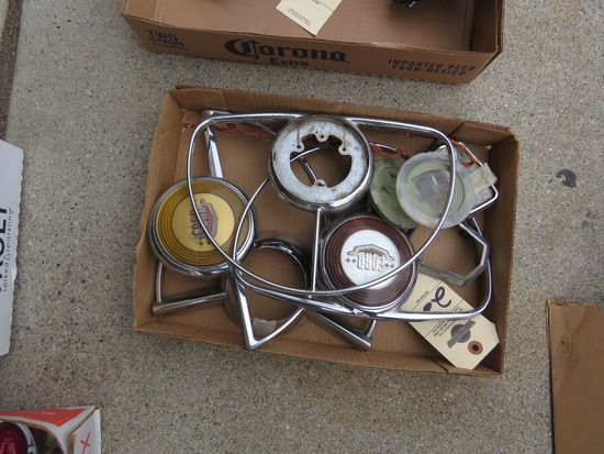 1950 Ford Horn Rings and other parts