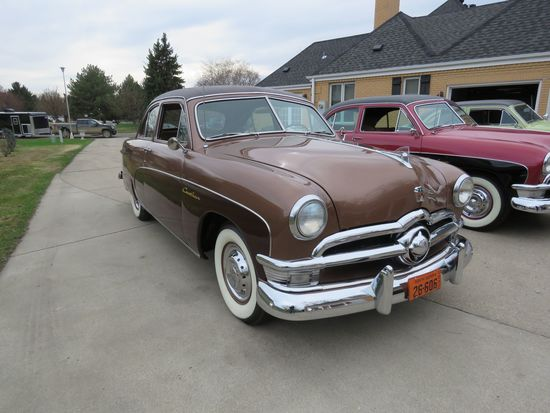 Rare 1950 Ford Crestliner Sedan