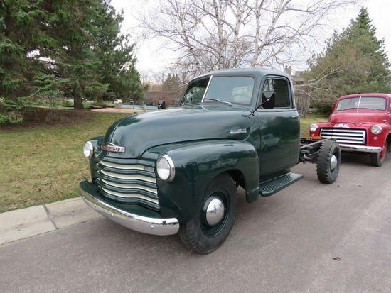 1951 Chevrolet 1 ton Pickup