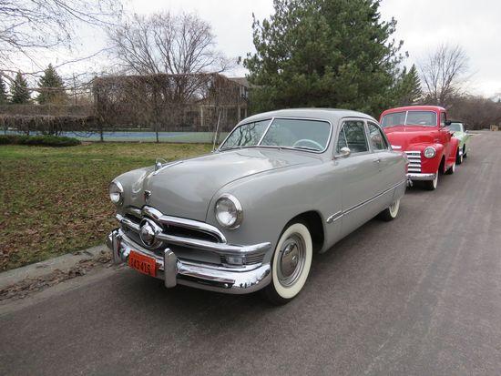 Beautiful 1950 Ford Custom 2dr Sedan