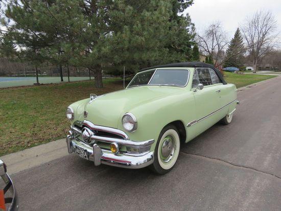 Beautiful 1950 Ford Custom Convertible