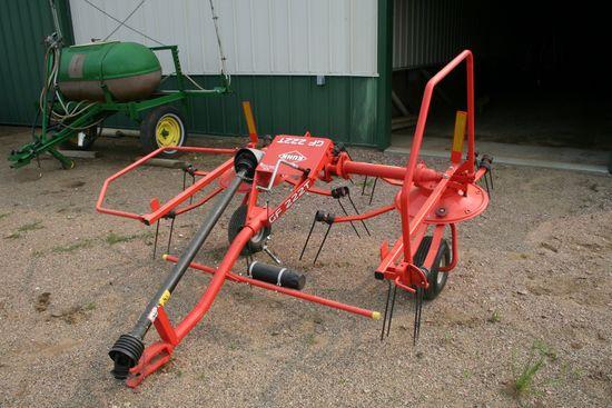 Jkuhn GF222T Hay Gyrotedder