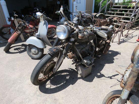 1953 Zundapp Motorcycle