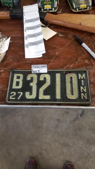 1927 MN plates