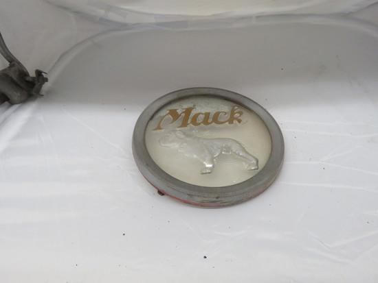 Vintage Mack Truck Emblem