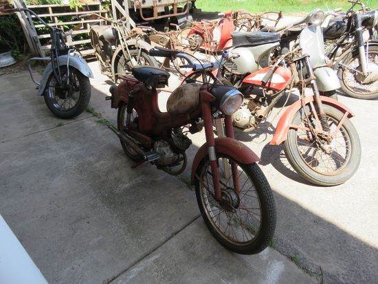 Vintage Wards Motorcycle Project