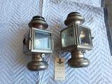 Pair of Solar Nickel Sidelamps