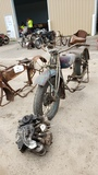 RARE 1920's  Indian V-Twin Motorcycle