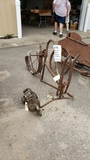 RARE 1911 Wagner Motorcycle Frame and Motor