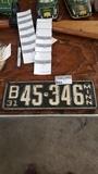 1931 Mn plates