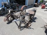 Vintage Servicycle Motorcycle Project