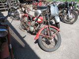 Vintage Harley Davidson Hummer Motorcycle