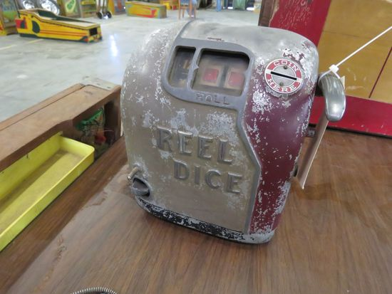 Reel Dice Machine
