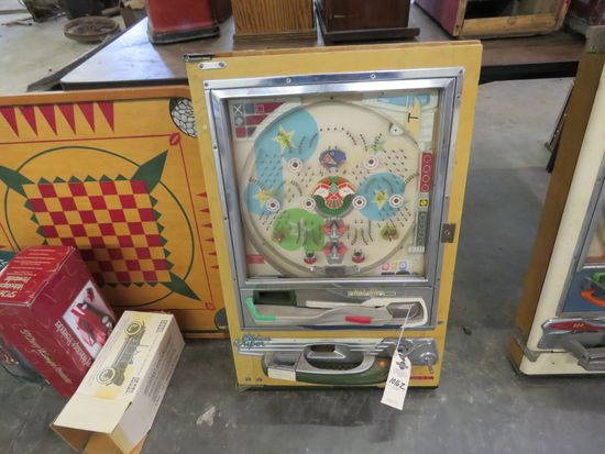 Super Deluxe Vintage Pinball Machine by Nishijin