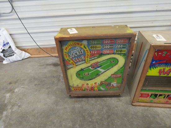 Vintage Top Pinball Machine by D. Gottieb & Comp. Chicago, Ill.