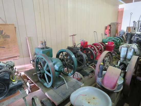 Antique Tractors, STationary Gas Engines & More