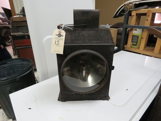 Railroad or Steam Traction Tractor Light