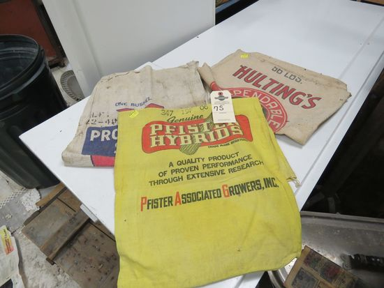 Antique Feed and Seed Bags