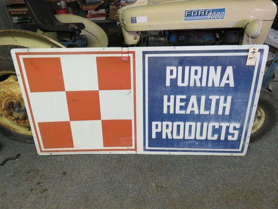 Purina Painted Tin Sign