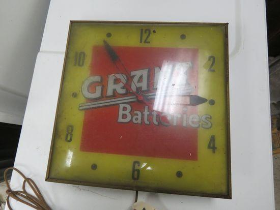 Grant Batteries Clock