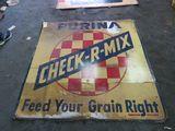 Purina SS Checker Board Sign