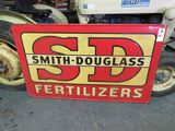Smith Douglas Painted Tin Sign