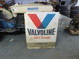 Valvoline Painted Tin sign