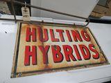 Hulting Hybrids DS Porcelain sign
