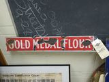 Gold Medal Flour Porcelain Sign